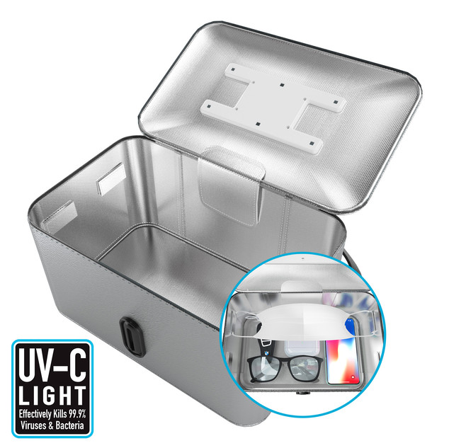 UVC light sterilize bag