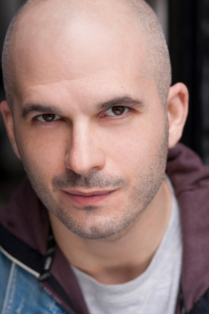 Actor headshot new york Jeffrey Hornstein