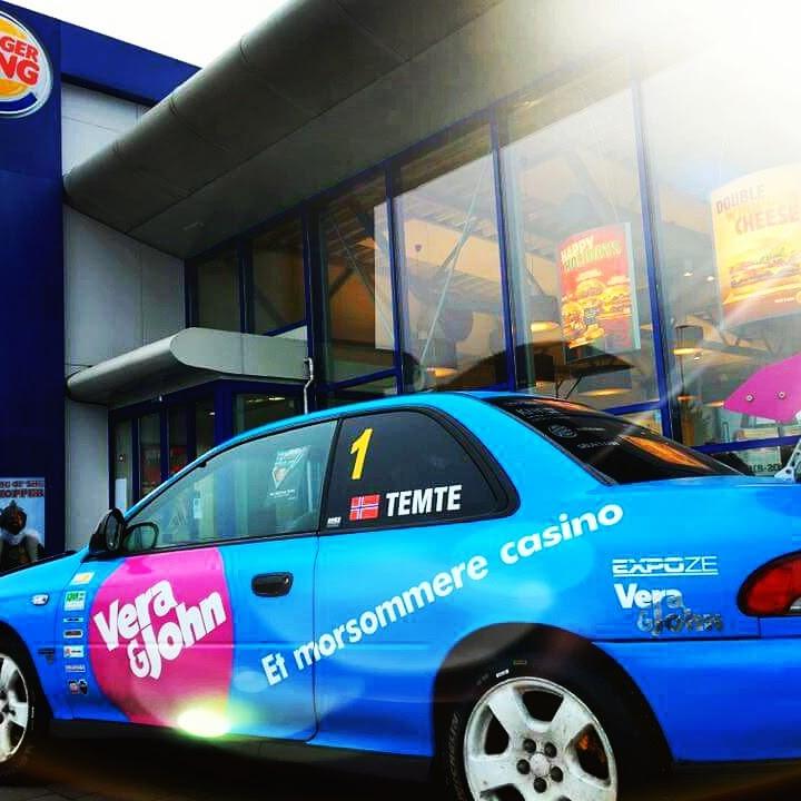 Exhibition - Black Friday - Burger King Krokstadelva Norway