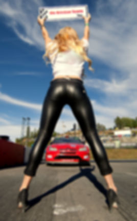 Ole Kristan Temte Norwegian Rallycross Team Model Gridgirl Pitbabe Highheels Supercar FIA WorldRX