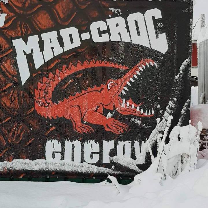 Mad Croc on Ice