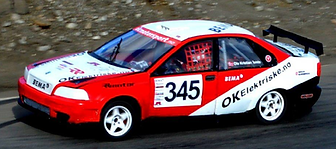 Ole Kristian Temte Norwegian Rallycross Team Volv S30 EVO Supernational