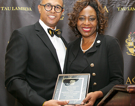 Councilwoman Johnson Receives Alpha Phi Alpha Fraternity Tau Lambda Chapter Public Service Award