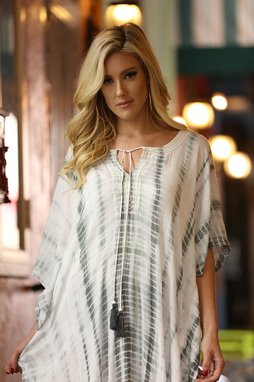 Lurex Long Caftan