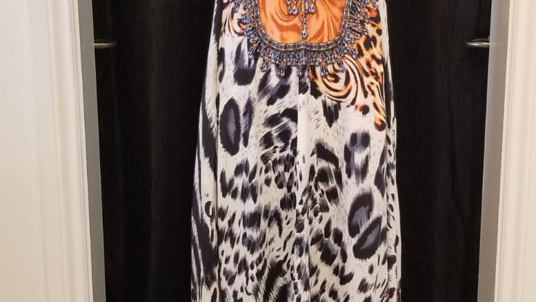 Africa T-Back Dress With Pockets