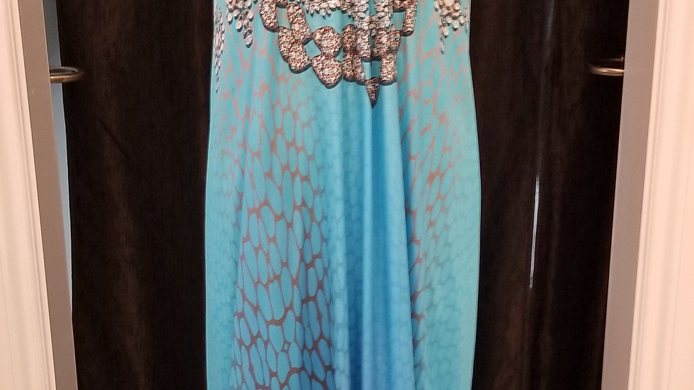 FB 301 Ocean Pearl Necklace Dress