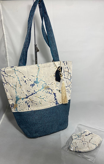 Decoaries Tote Bag with Matching Mask