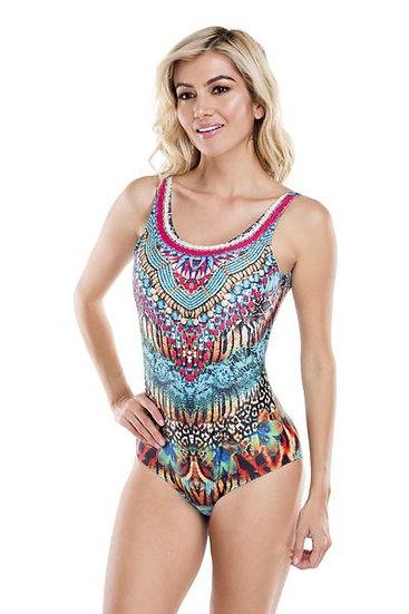 FB 405 Wild Kenya One Piece Swimsuit