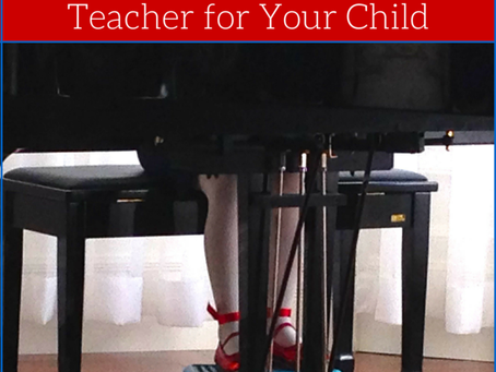 How to Choose the Best Piano Teacher for Your Child