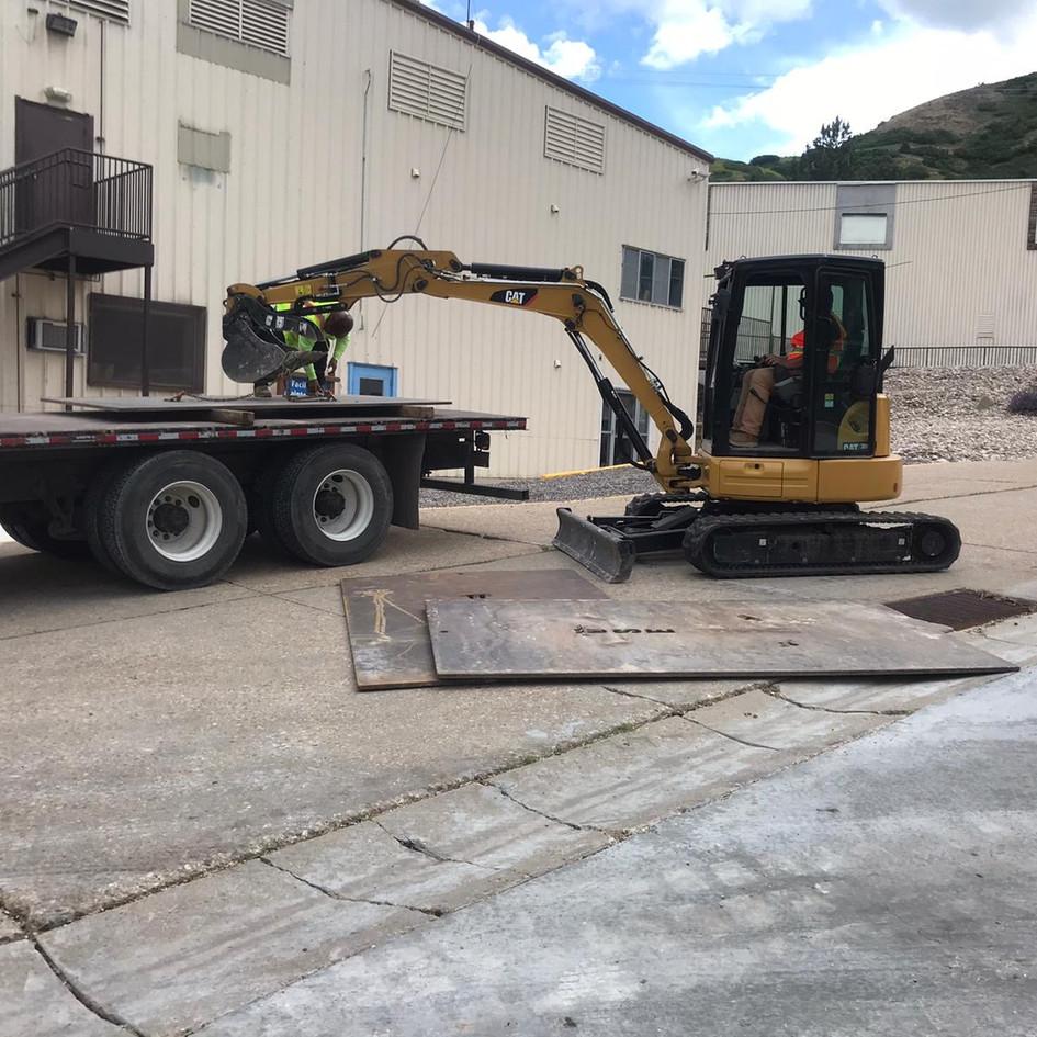 Weber Basin Emergency Gas Line Repair - Utah