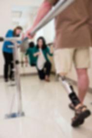 prosthesis prosthtic transfemoral C-leg AK artificial leg above knee amputee