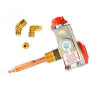 161112MC - Water Heater Valve w. Adapter