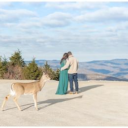 Snowshoe Mountain Engagement Shoot