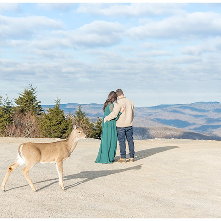 Snowshoe Mountain Engagement Shoot