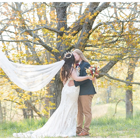 A Springtime Fall Wedding
