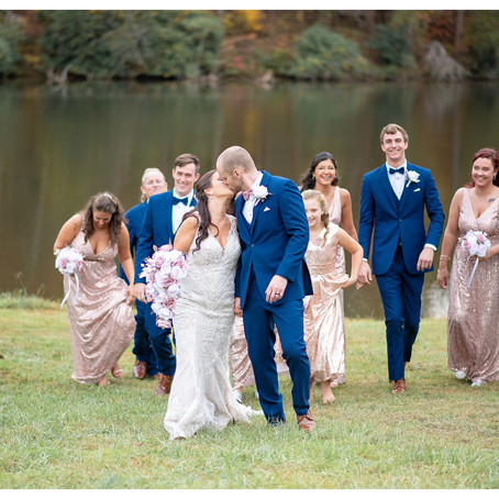 Fall Wedding in Hendersonville