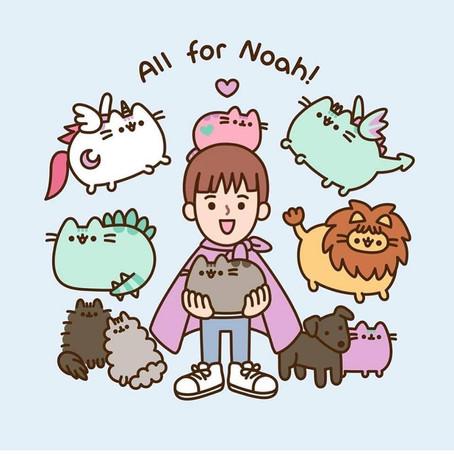 Say Hey To Noah, Pusheen.
