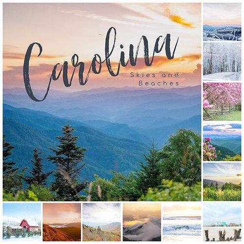2021 Carolina Skies & Beaches Wall Calendar