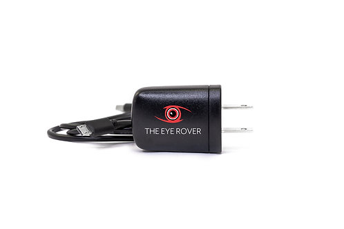 The Eye Rover USB Power Adapter and Charging Cable