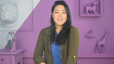 Amanda Suk - Hosting Scattebrained
