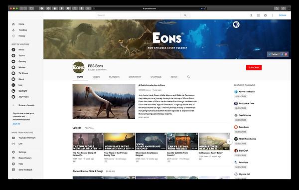 Eons YouTube Channel