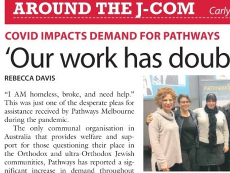 'Our work has doubled' - Covid impacts demand for Pathways