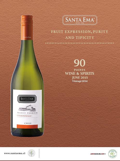 Select Terroir Unoaked Chardonnay Vintage 2017