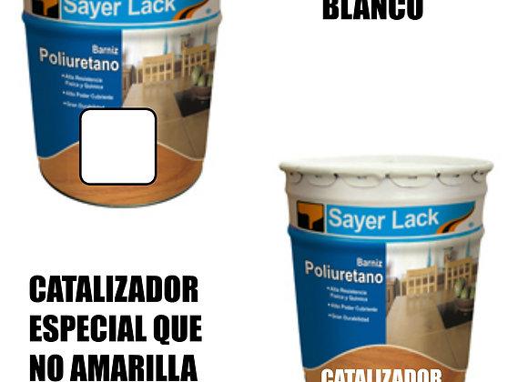 Kit de T-0031/A Brillo Dir. Blanco con Catalizador Y Solvente