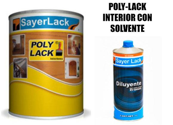 Kit de UB-0700 Polylack Bte. Mate. Semima Solvente