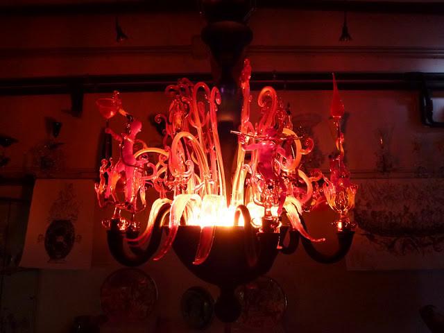 Lucio Bubacco's famous chandelier