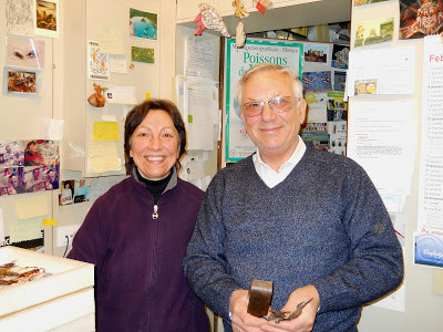 Graziella and Vittorio Constantini                      photo: Sally Carver
