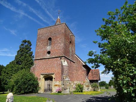 Chapel in blue