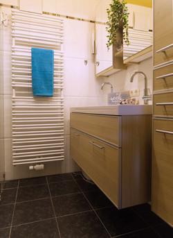 Kleinwohnung Badezimmer