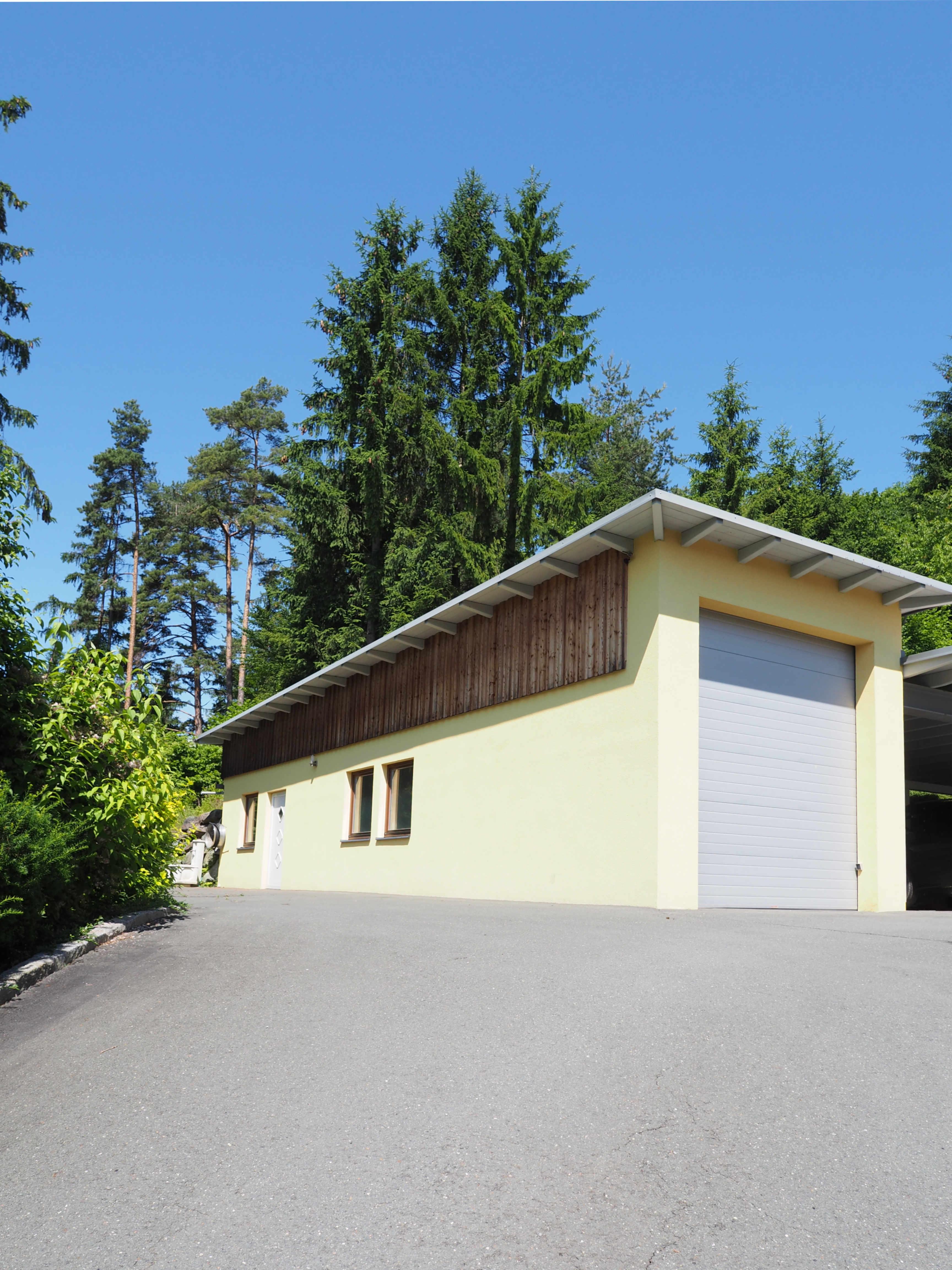 Garage für Wohnmobil