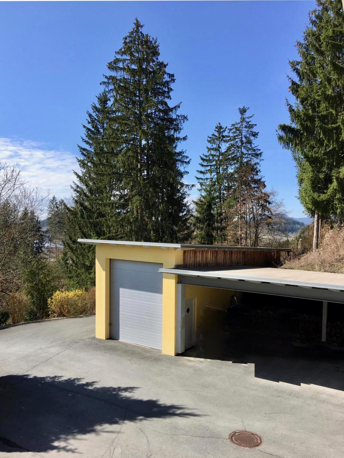 Garage für Wohnmobil und Carports