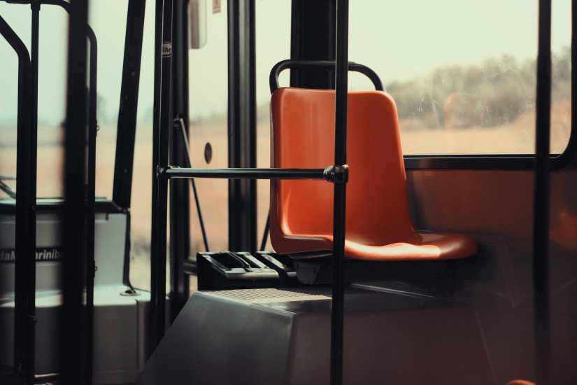 Seat on public transportation