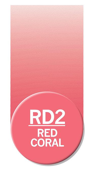 Chameleon Single Pen Red Coral RD2 [CT0140UK]