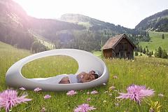 Lomme luxury egg bed, healing, sleep improvement, light, colour