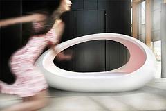 Lomme luxury egg bed, healing, sleep improvement, light, colour, sound