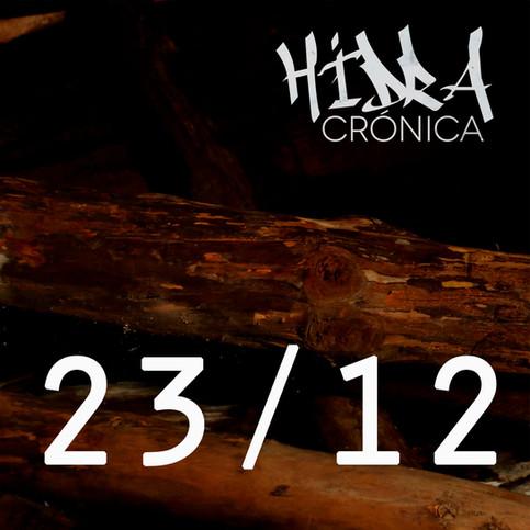"""NUEVO ALBUM: """"CRÓNICA"""" A la venta el 23/12"""