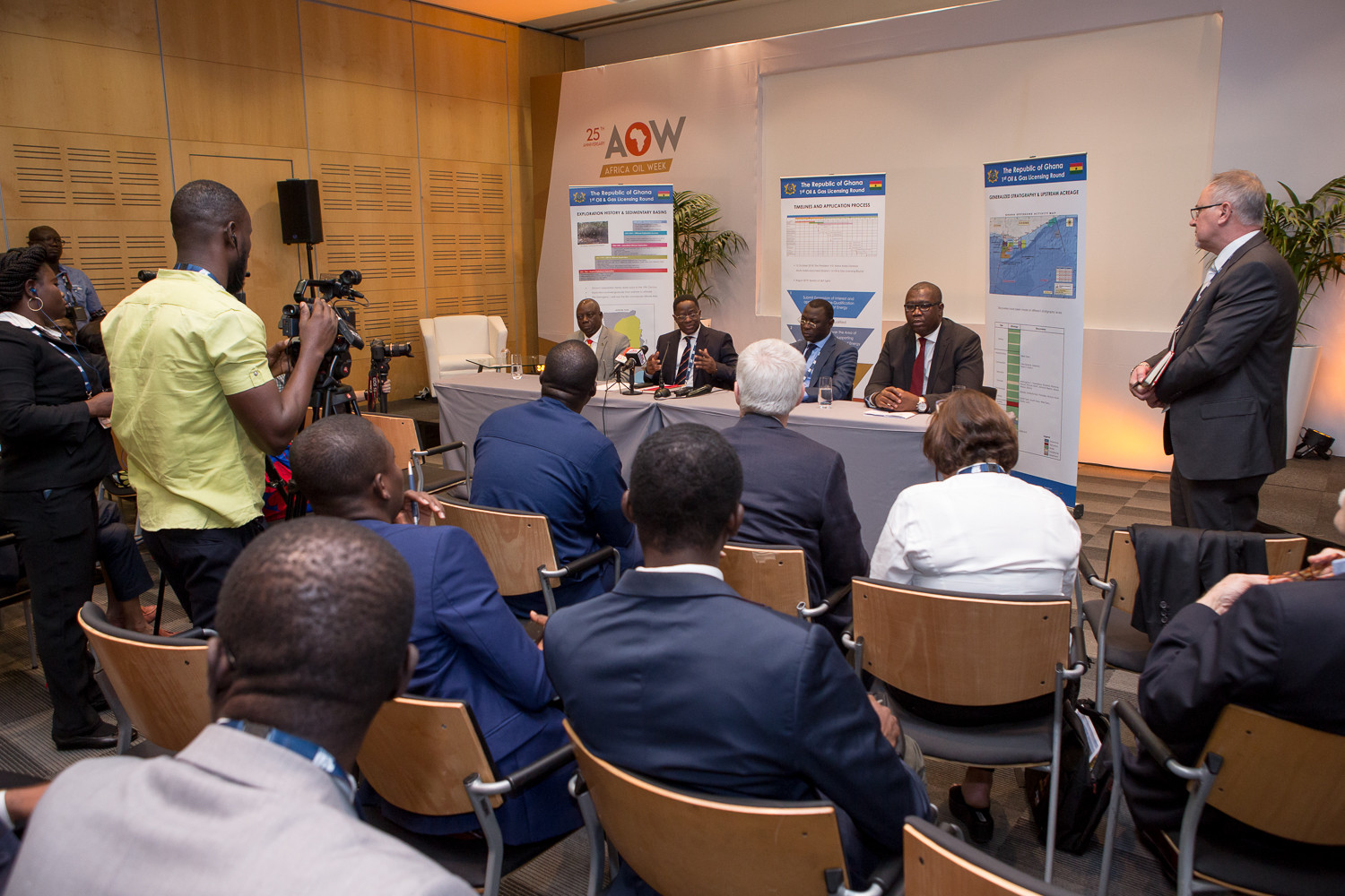 Africa Oil Week, 1st Oil and Gas Licensing Round Announcement