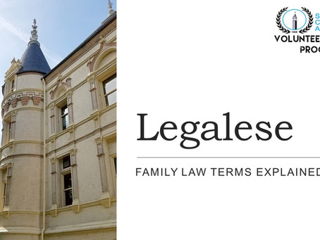 Legalese: Family Law Terms Explained