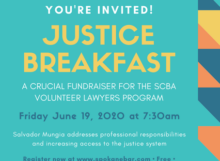 You're Invited! Justice Breakfast: A Crucial Fundraiser for the SCBA VLP