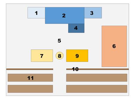 Courtroom Diagram