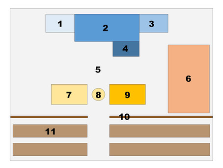 Courtroom Diagram