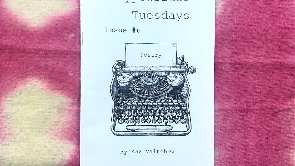 Typewriter Tuesdays