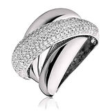 1.35CTS Diamonds  18k White Gold Ring