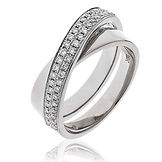 0.30CTS Diamonds 18k White Gold  Ring
