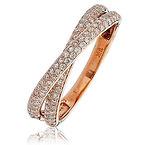 0.50CTS Diamonds  18k Rose Gold Ring