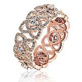 1.45CTS Diamonds  18k Rose Gold  Ring